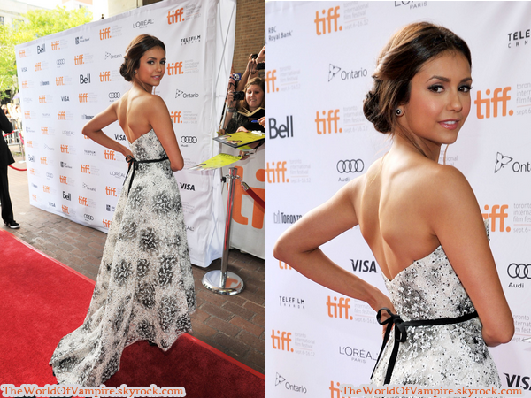 "Nina Dobrev à ""Perks Of Being A Wallflower World Premiere"" - 08/09"