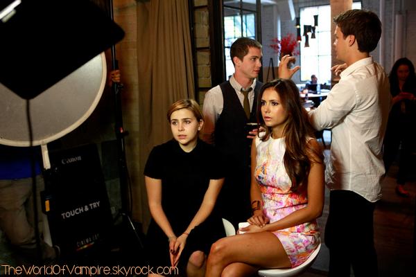 """Nina Dobrev au """"Variety Studio"""" - 09/09"""