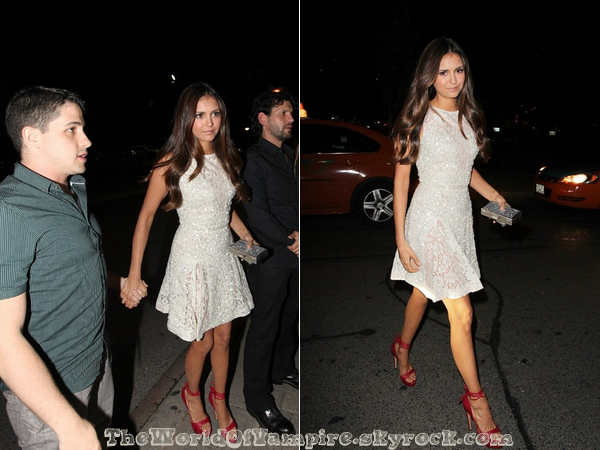 "Nina Dobrev à la ""CAA TIFF Party"" - 09/09"
