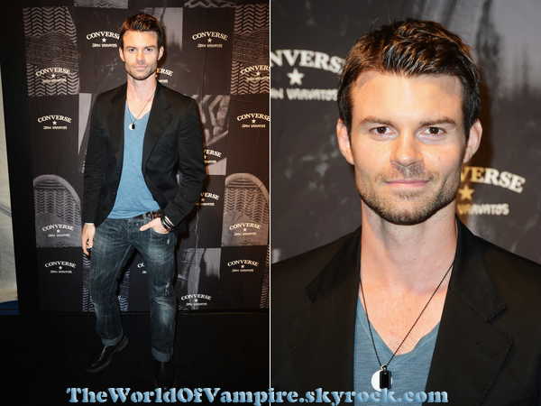 "Daniel Gillies au ""John Varvatos & Converse Launch"" - 07/09"