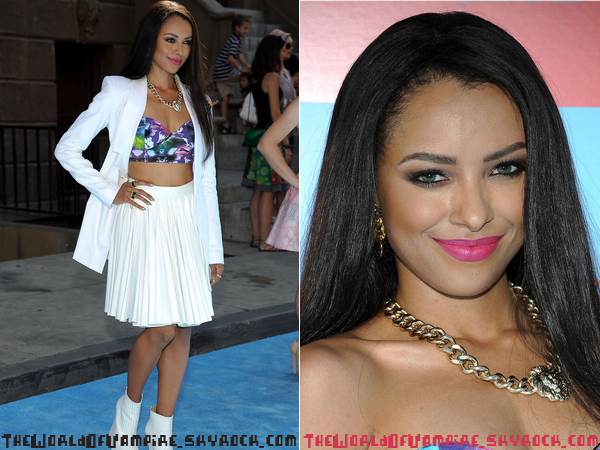 "Kat Graham à ""Variety Power Of Youth"" - 15/09"