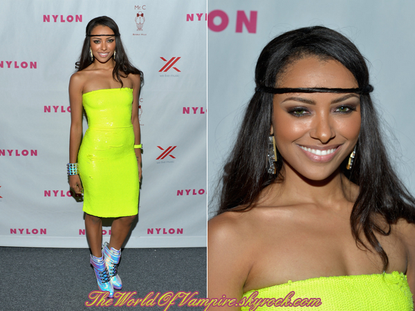 "Kat Graham au ""Nylon & Sony September TV Issue Launch Event - 15/09"