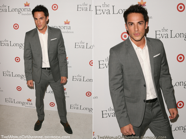 "Michael Trevino au ""The Eva Longoria Foundation's Pre-ALMA Awards Dinner"" - 15/09"