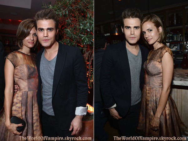 "Paul et Torrey à ""The 2012 Entertainment Weekly Pre-Emmy Party Presented By L'Oreal Paris"" - 21/09"
