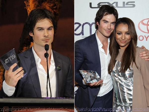 Kat, Ian et Torrey aux Environmental Media Awards 2012 - 29/09