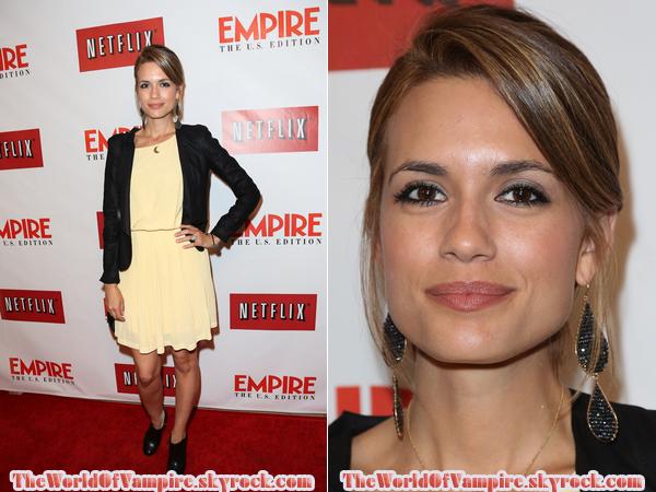 "Torrey DeVitto au ""Empire Magazine Launch"" - 02/10"