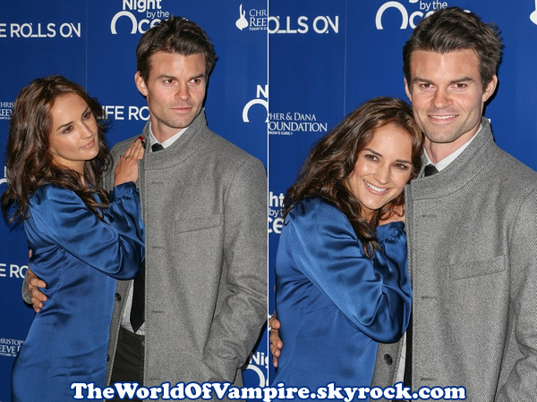 "Daniel Gillies à la ""The Life Rolls On Foundation's 9th Annual Night"" - 10/11"