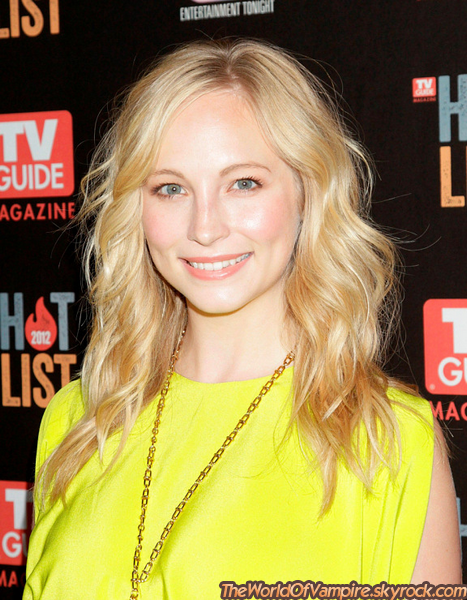 "Candice Accola à la ""TV Guide Magazine Hot List 2012 Party"" - 12/11"