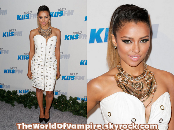 "Kat Graham au ""KIIS FM's Jingle Ball 2012"" - 01/12"