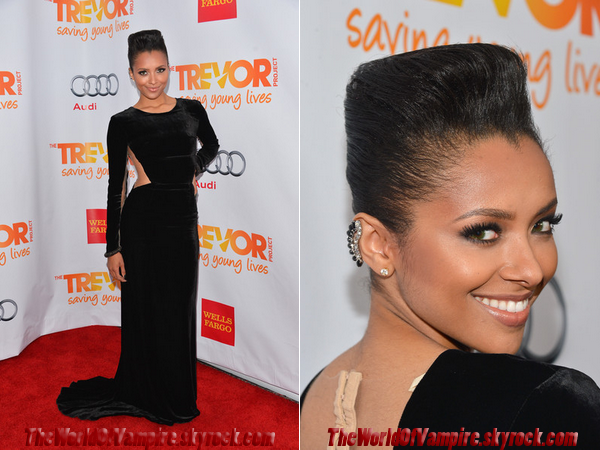 "Kat Graham & Paul Wesley à la soirée ""The Trevor Project's 2012"" - 02/12"