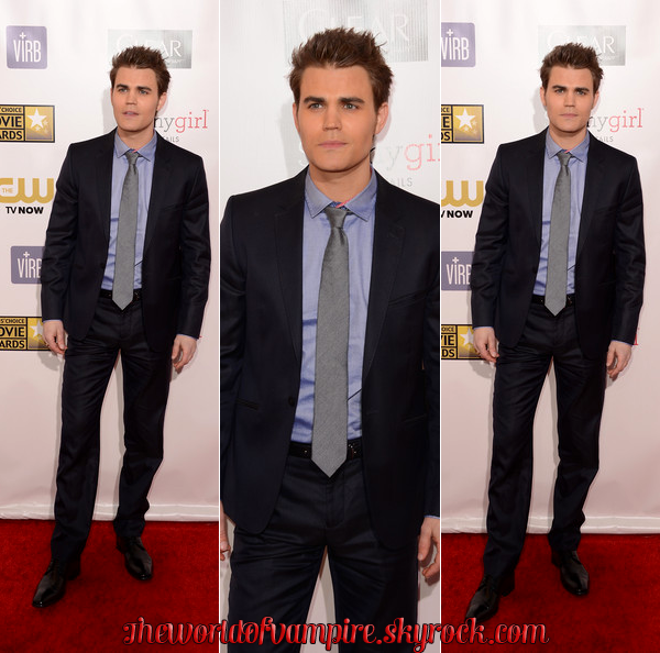 "Nina, Paul & Ian aux ""Critics Choice Movie Awards 2013"" - 10/01/2013"