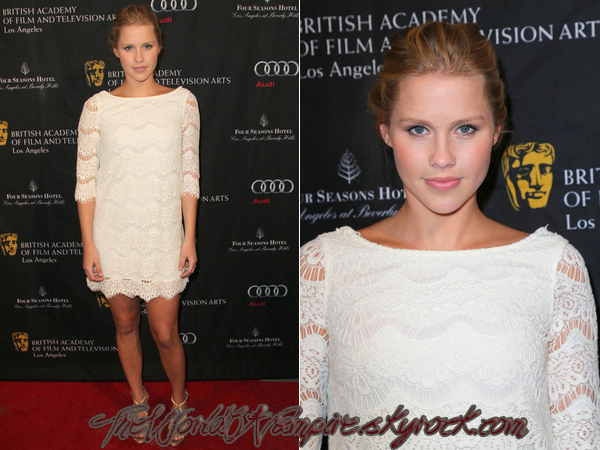 "Claire Holt à la ""BAFTA Los Angeles 2013 Awards Season Tea Party"" - 12/01"