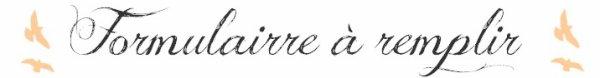 Présentation et Inscription.
