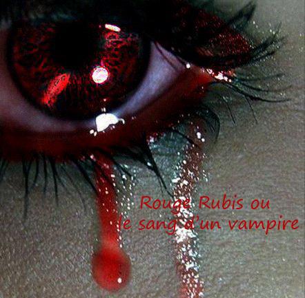 ★ Rouge Rubis ou le sang d'un vampire - Présentation