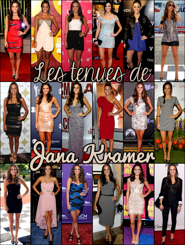 ♥Les tenues de Jana Kramer ♥Création : One-Tree-Hill-Les-Scott