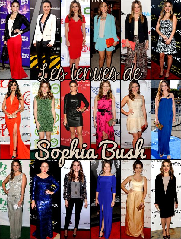 ♥Les tenues de Sophia Bush ♥Création : One-Tree-Hill-Les-Scott