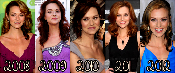 ♥Evolution Hilarie Burton ♥Création : One-Tree-Hill-Les-Scott