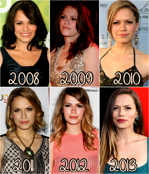 ♥Evolution Bethany Joy Galeotti ♥Création : One-Tree-Hill-Les-Scott