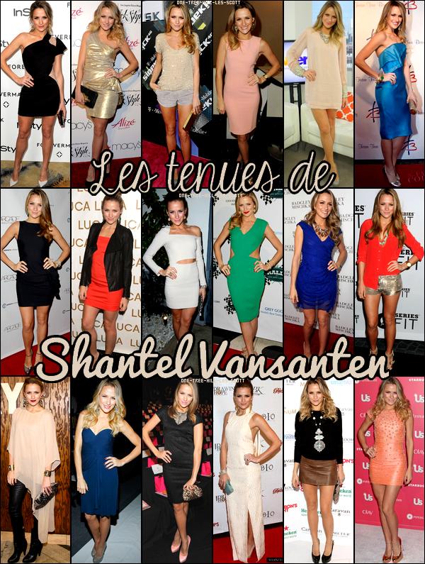 ♥Les tenues de Shantel Vansanten ♥Création : One-Tree-Hill-Les-Scott