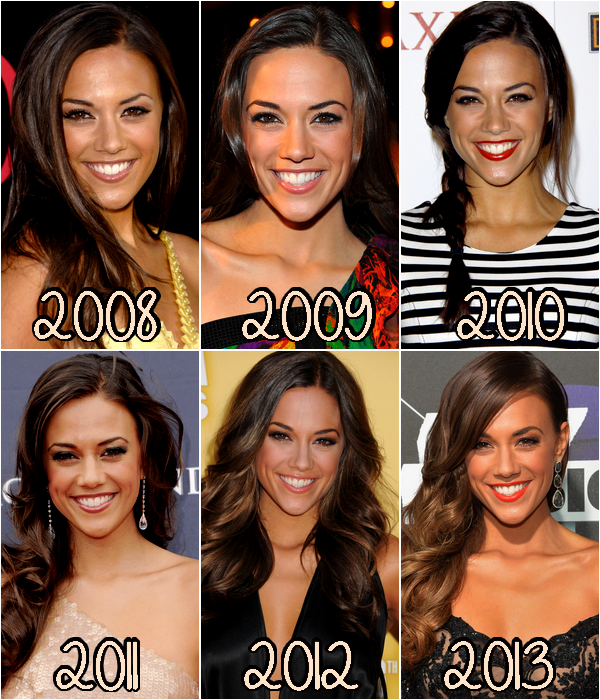 ♥Evolution Jana Kramer ♥Création : One-Tree-Hill-Les-Scott