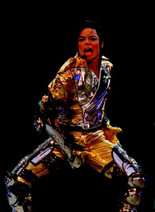 Michael Jackson : Picture of the moment
