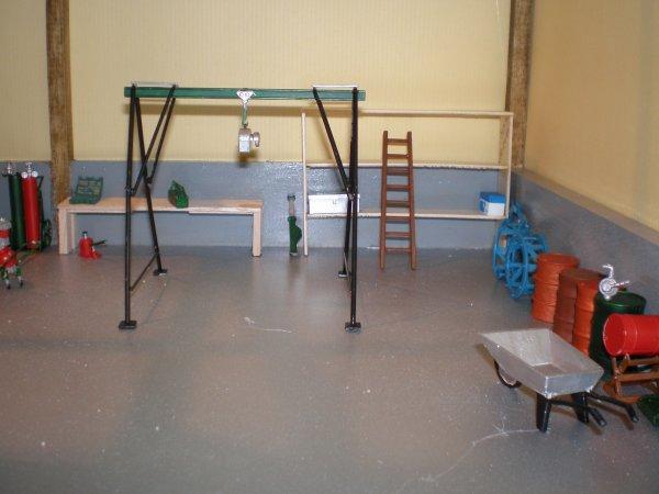 commencement de l aménagement de l atelier