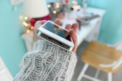Quand mon téléphone vibre ♥