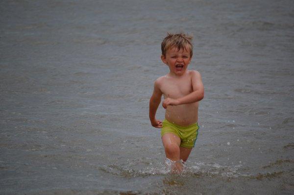 15 jours de vacances pour mon loulou, pas loin juste à Bray dune, mais que sa fais du bien de changer d'air....