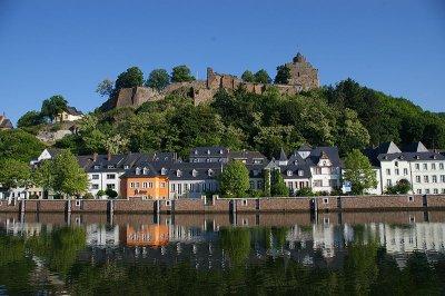 Saarburg et Trèves     Saarburg und Trier