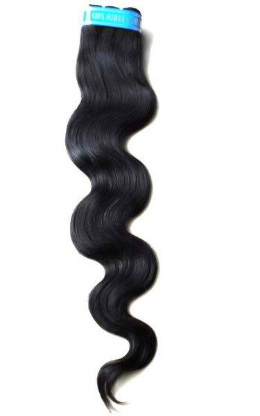 bohyme brazilian wave half wig