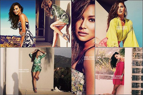 *  Naya faisant la couverture de   Summer 2013 pour Glow Canada  + un photoshoot pour le magazine. *
