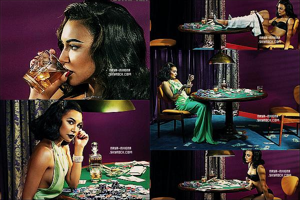 *  Naya a posé sous l'objective pour le magazine   Complex dans des photos mettant en scène le jeu. *
