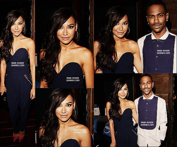 * 01/07/13 : Naya  accompagné de son petit ami se sont rendus au concert de    Beyonce     organisé par Dell  a L.A. *