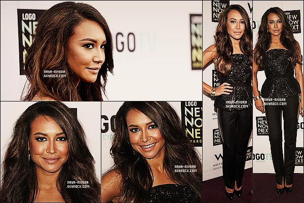 * 13/04/13 : Naya était présente assez souriante a l'évenement    NewNowNext Awards 2013    a  Los Angeles. *