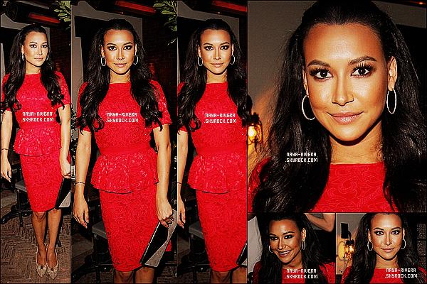 * 11/04/13 :  Naya Rivera était présente lors de la soirée organise par le  magazine    Allure  situé   a  Los Angeles. *