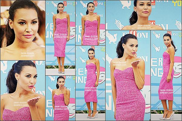 * 24/07/13 : Naya a été aperçue sur le tapis bleu du festival de    Giffoni 2013     lors de son voyage en  Italie. *
