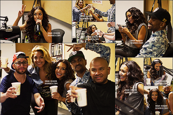 * 09/08/13 : Naya était présente lors d'un meet and greet a la radio    Power 106   pour présenter son single Sorry. *