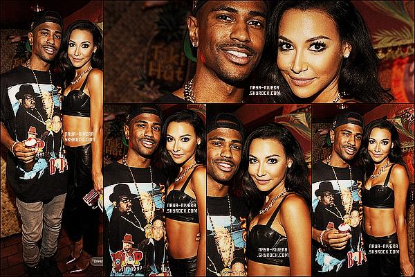 * 12/09/13 : Naya était présente accompagné de Big Sean au    Teen Choice Awards  qui était   a  Los Angeles. *