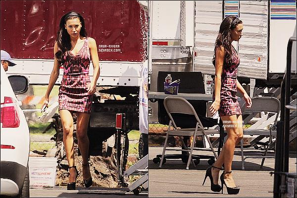 * 12/08/13 : Naya a été aperçue sur le tournage de   la série Glee     en compagnie  de quelques une de ses co-star. *