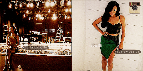 ▬ Naya Rivera se confie au magazine américain « Latina » !____