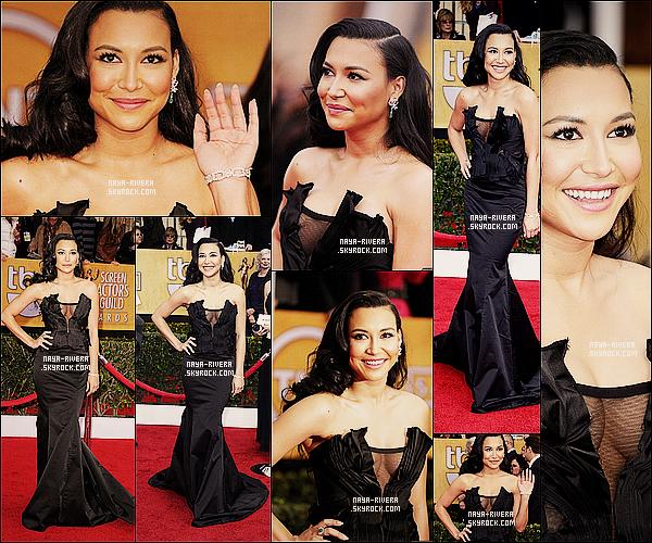 * 27/01/13 :  Naya a été aperçue  présente lors de la cérémonie des    Screen Actors 2013     situé a  Los Angeles. *
