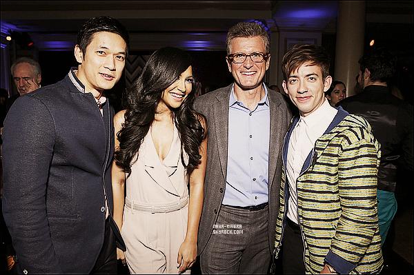 * 08/01/13 :  Naya était présente a la soirée organisé par la chaine américaine    Fox  pour les All-Star    a  Los Angeles. *