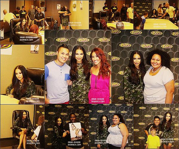 * 14/09/13 : Naya était présente lors de l'évenement d'un meet and greet dans différentes radios         a  Los Angeles. *