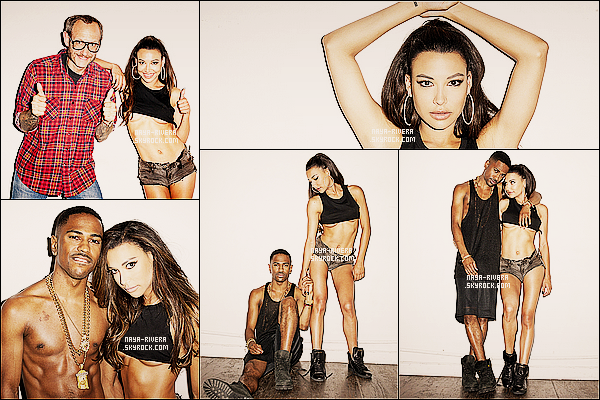 *  Naya a réalisé un photoshoot avec Big Sean sous l'objective de    Terry Richardson. *