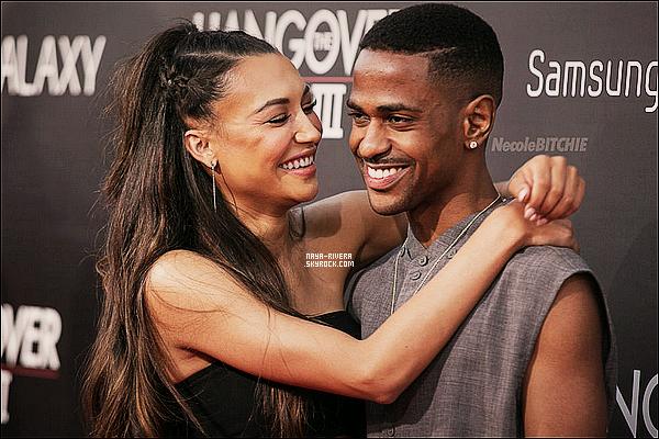 """La bonne nouvelle est tombé Naya Rivera et Big Sean sont a présent fiancés !  Naya Rivera et Big Sean ont officialisé leur couple pour la première fois à l'avant-première du film 42 en avril dernier, mais c'est sur la toile qu'ils se sont rencontrés. La comédienne et chanteuse avait craqué pour le beau gosse après l'avoir vu dans un magazine et ses amis l'avaient convaincue de le contacter. """"Je le suivais sur Twitter et il m'a envoyé un petit message disant : 'Je suis fan'. Je lui ai envoyé un message, je voulais attirer son attention. On est parti dîner et vous connaissez la suite"""", avait précédemment raconté Naya Rivera. Le mois dernier, Naya Rivera avait laissé entendre qu'elle pensait se poser prochainement avec son petit ami. """"Cela fait un moment qu'on est ensemble maintenant. Ca se passe vraiment bien"""", avait-elle confié avant qu'on lui demande si elle se voyait fonder une famille avec. """"Absolument !"""", s'était-elle enthousiasmée.CloserMag.fr"""