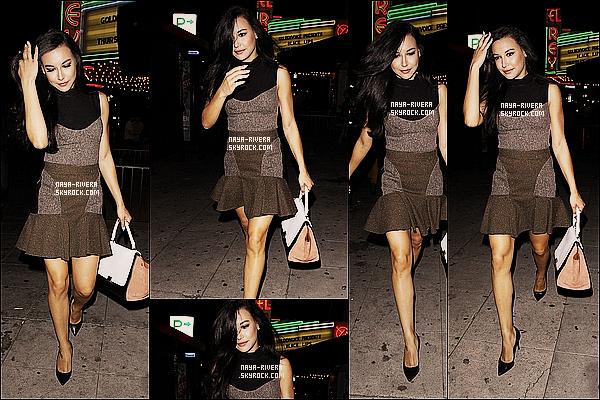 * 20/03/13 :  Naya a été aperçue  a la sortie d'un concert de la chanteuse  Lianne la Havas     situé a  Los Angeles. *