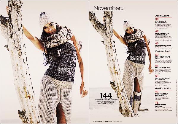 *  Nouvelles photos de     Naya Rivera pour le magazine  Women's Health + une vidéo. *