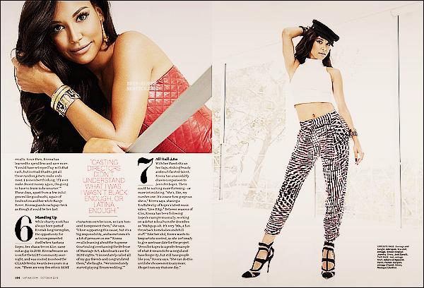 *  Découvrez de nouvelles photos du photoshoot réalisé par Naya pour le célèbre magazine    Latina. *