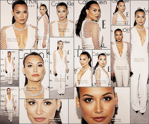 * 21/10/13 : Naya était présente a la soirée  du nom de 20th Annual Women     qui se déroulait a  Los Angeles. *