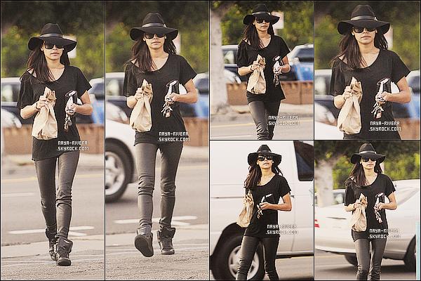 * 12/11/13 : Naya  a été aperçue s'arreté dans un magasin du nom de    Liquid Store   situé dans  Los Angeles. *